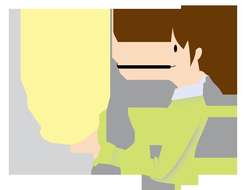 女性(パソコン)