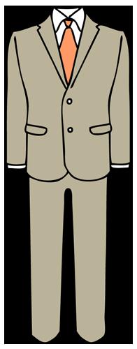 スーツ(男性用)