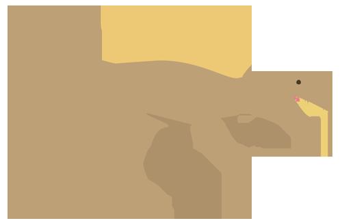 恐竜(スピノサウルス)