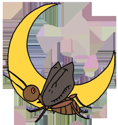 虫(コオロギ)