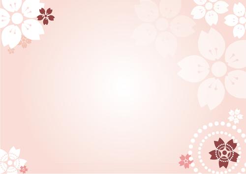 背景素材(桜)