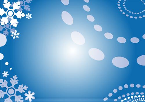 背景素材(雪の結晶)