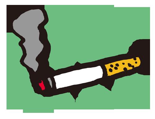 喫煙マーク(タバコ)
