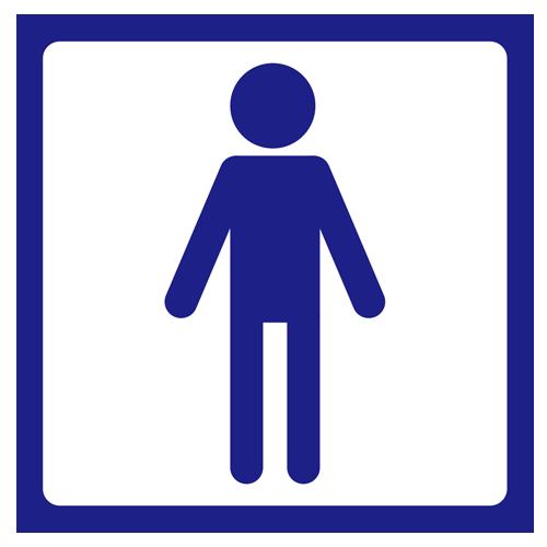 男子トイレ(トイレマーク)