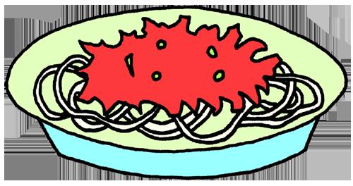 パスタ(ミートソーススパゲティー)