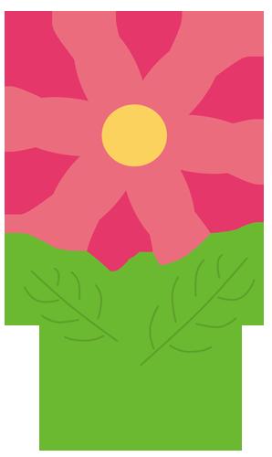 花(ピンク)