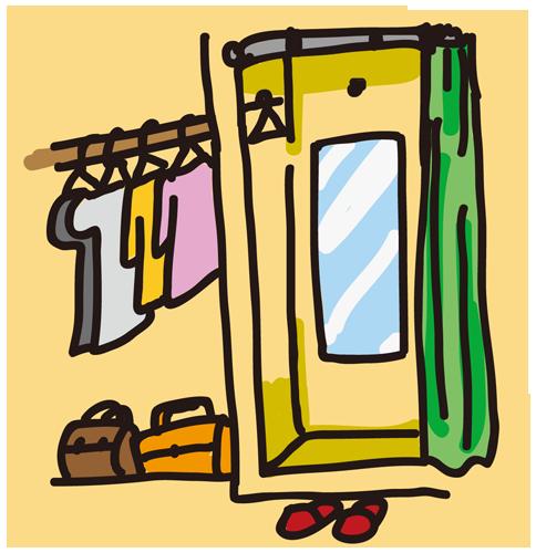 売り場(服飾)
