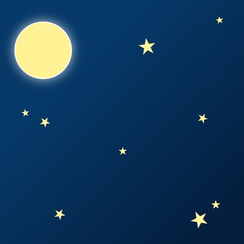 空(夜空)