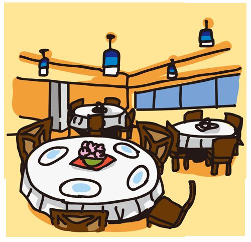 店内(レストラン)