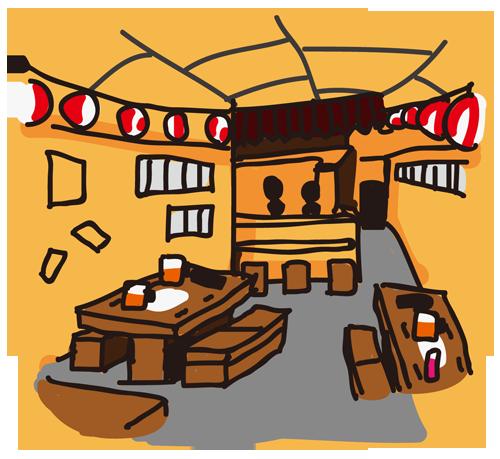 店内(居酒屋)