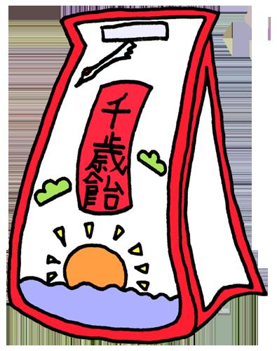 千歳飴(七五三)