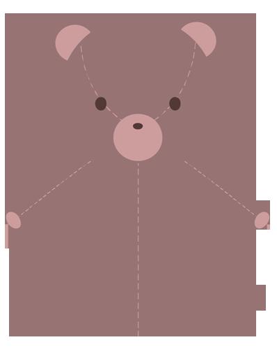 ぬいぐるみ(クマ)