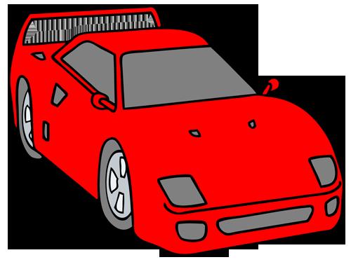 車(スポーツカー)