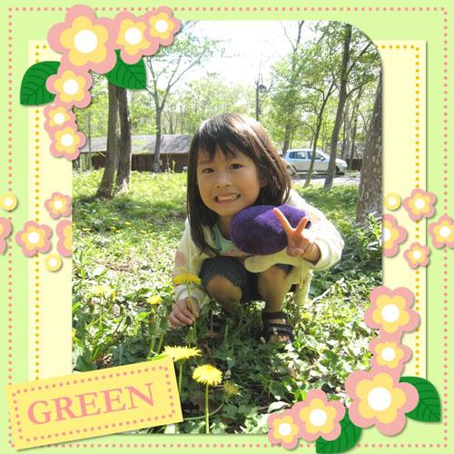 フォトスクラップ(新緑)(200×200MM・ヨコ)