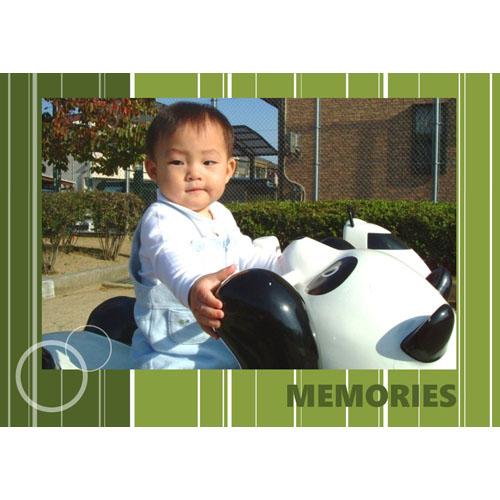 フォトスクラップ(MEMORY)(A4・ヨコ)