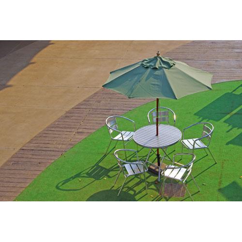 風景 テーブルチェア