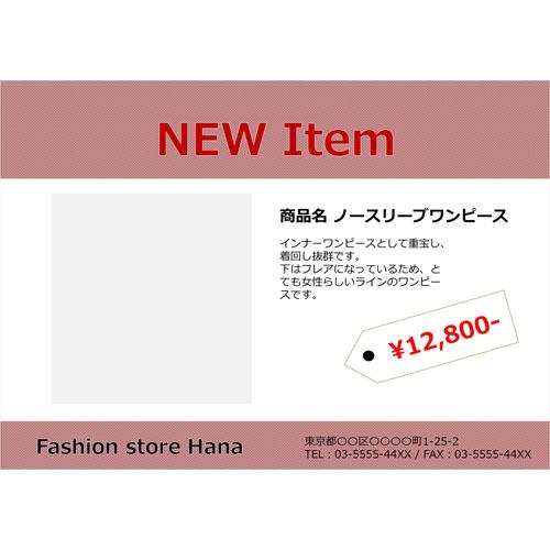 ポスター(商品紹介)(A3・ヨコ)